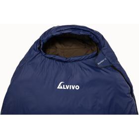 Alvivo Komfort 12 Schlafsack 215cm blue/black
